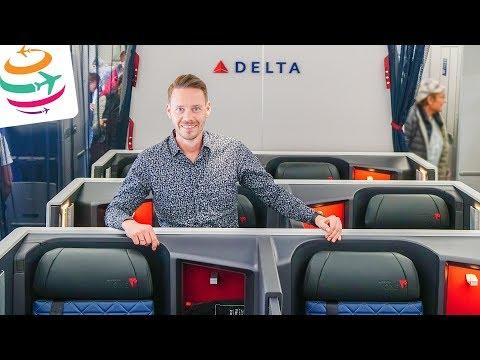 Delta ONE Business Class A350-900 | GlobalTraveler.TV