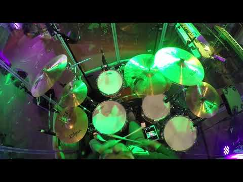 """""""Carol of The Bells"""" Trans-Siberian Orchestra DRUM COVER"""