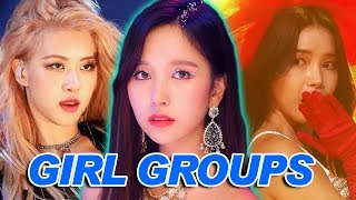 My Top 50 K-pop Girl Groups! (2019)