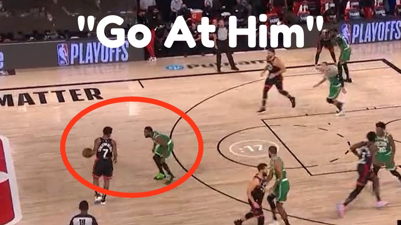 "The ""Pick On Him"" Dynamic In The Playoffs: Raptors vs Celtics"