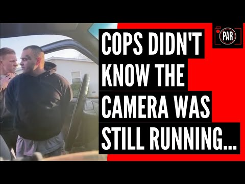 Cops lied to put him in handcuffs, but a camera caught the truth!