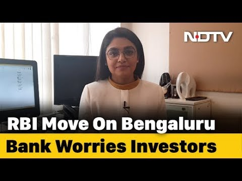 RBI Caps Withdrawal Limit For Bengaluru-Based Bank | NDTV Newsroom Live