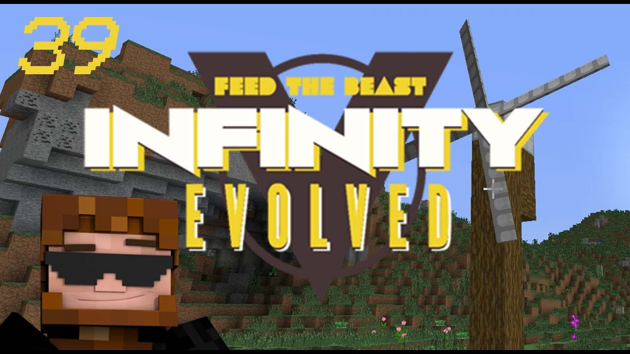 Minecraft: FTB Infinity Evolved - Ep 39 - Power Of The Wind
