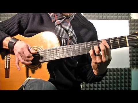 Adeste Fideles (O Come All Ye Faithful)- Fingerstyle Guitar