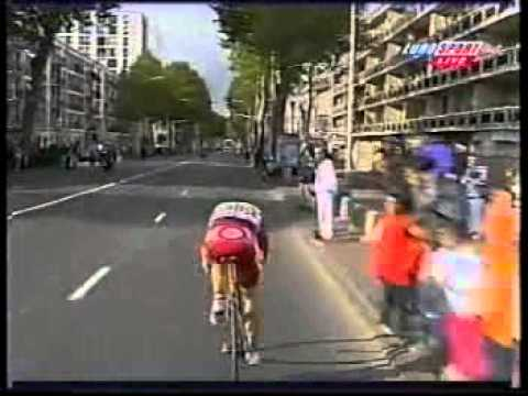 Ciclismo parigi tours 1999 wauters bel su faresin youtube for Parigi travel tour