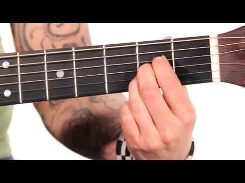 Learn Guitar: How to Play an A Major Chord