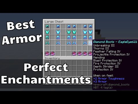 Best Armor And Best Enchantments In Minecraft