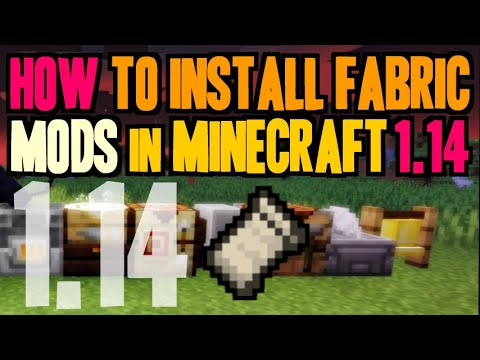 How To Install Mods In Minecraft 1.14 - Download And Install Fabric Loader & Mods 1.14 (on Windows)