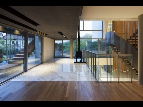 Modern House Design with Unfamiliar Luxury Interior Design in South Korea