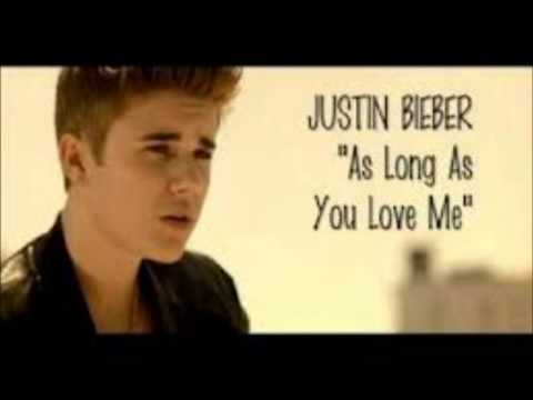 As long as you love me Version cumbia - Justin bieber HD