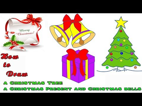 How to Draw Christmas Pictures|Merry Christmas and Happy New Year!