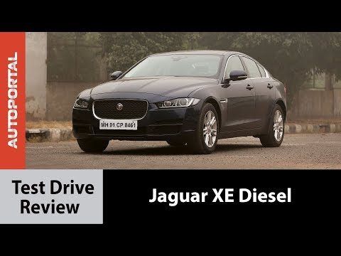 Jaguar XE Diesel Test Drive Review - Autorportal