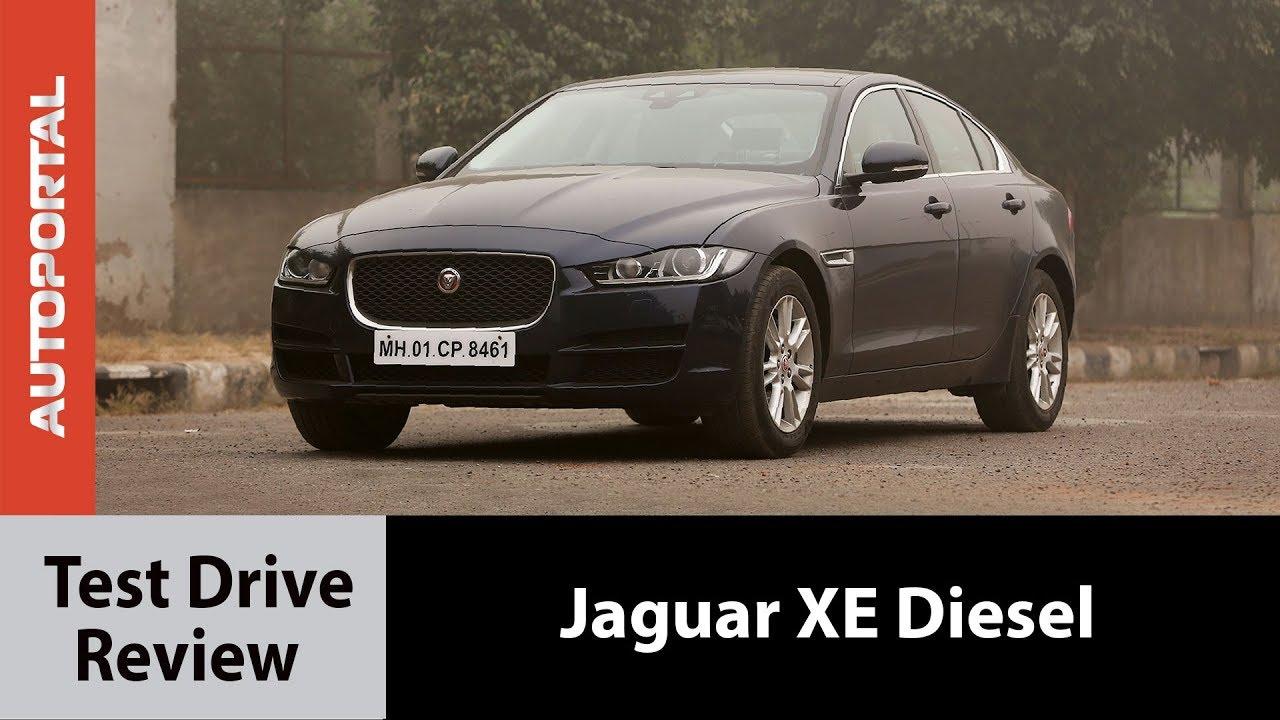 Jaguar XE Diesel Test Drive Review – Autorportal
