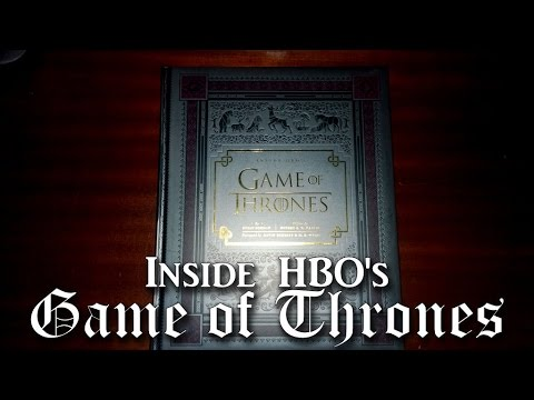 "A look at: ""Inside HBO's A Game of Thrones"" book by Orion Books"
