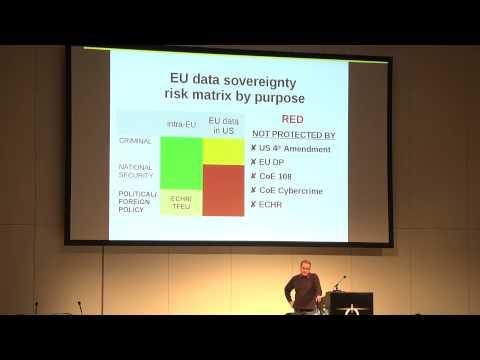 Caspar Bowden: The Cloud Conspiracy 2008-2014