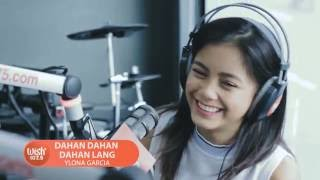 "Ylona Garcia sings ""Dahan Dahan Dahan Lang"" LIVE on Wish 107.5 Bus"