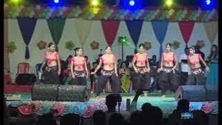 ROCKSTAR MAHI EVENT'S NELLORE the best performance Lakshmi naa Chinni Lakshmi DJ song  9000644128
