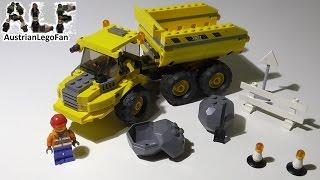 Lego City 7631 Dump Truck / Kipper - Lego Speed Build Review