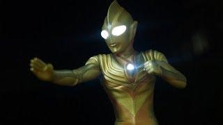大怪獣シリーズ ULTRA NEW GENERATION グリッターティガ レビュー ウルトラマンティガ Daikaiju Series Ultraman Tiga Glitter Tiga