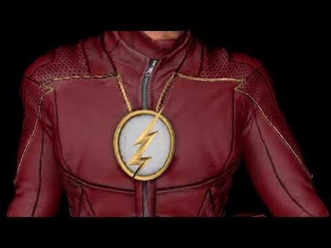 CW The Flash CGI Lightning Method V1 & 3D Model Showcase