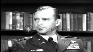Us Combat Team Work As Reinforcement Party During War In Korea. Hd Stock Footage