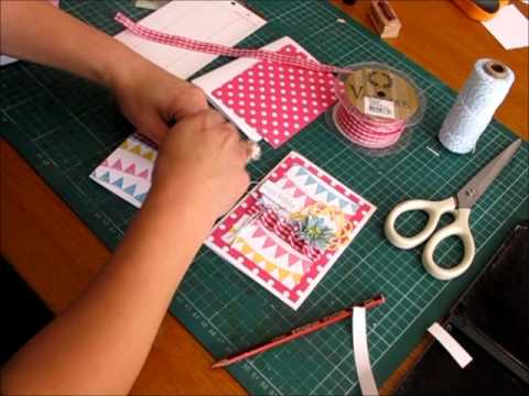 Card Making Tutorial Happy Birthday Koko Vanilla Designs Youtube