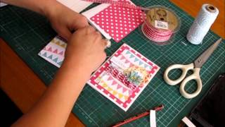 Card Making Tutorial Happy Birthday - Koko Vanilla Designs