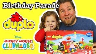 Lego Duplo Mickey Mouse Birthday Parade