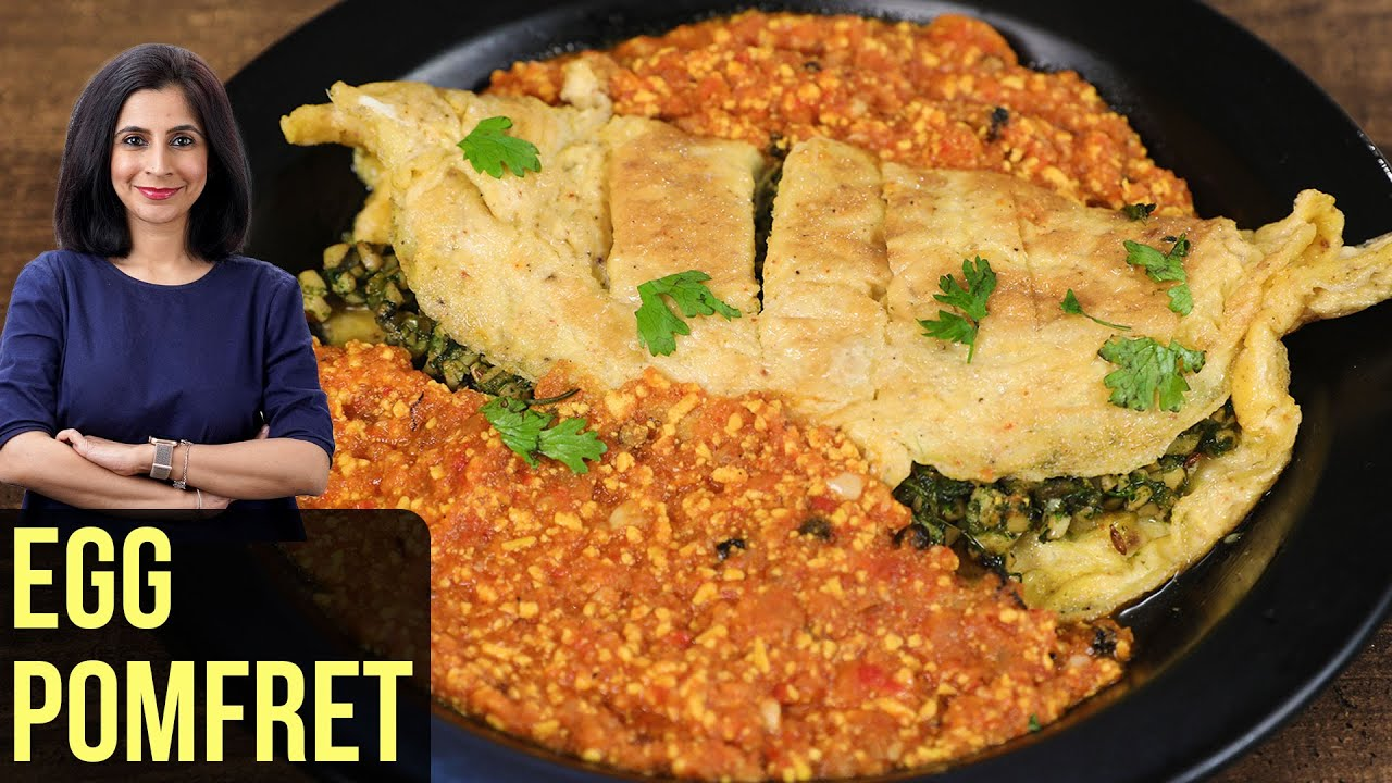 Egg Paplet Recipe | How To Make Egg Pomfret | Anda Paplet | Egg Recipe By Tarika Singh