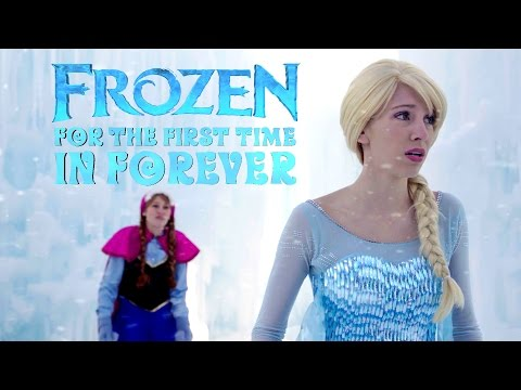 For the First Time in Forever Reprise - in Real Life | Disney Frozen | #frozen