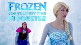 Repeat youtube video For the First Time in Forever Reprise - in Real Life | Disney Frozen | #frozen