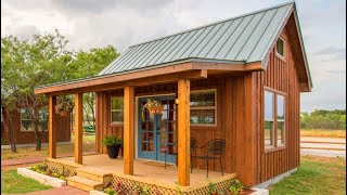 Amazing Cozy Vacation Cabin Country Tiny House Concept For 4 People