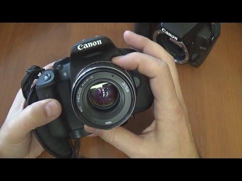 Объектив МС Гелиос 44 на зеркалку Canon