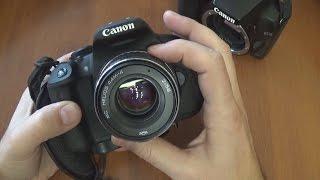 Объектив МС Гелиос 44 на зеркалку Canon(Наверняка у многих дома, еще с незапамятных времен, без толку валяется отслужившая свое, старая фототехника..., 2016-11-19T10:38:48.000Z)