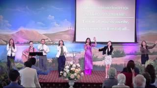 Tung Hô Danh Chúa  & Ngợi Ca Danh Oai Nghi - Living God Church Worship 10-18-2015