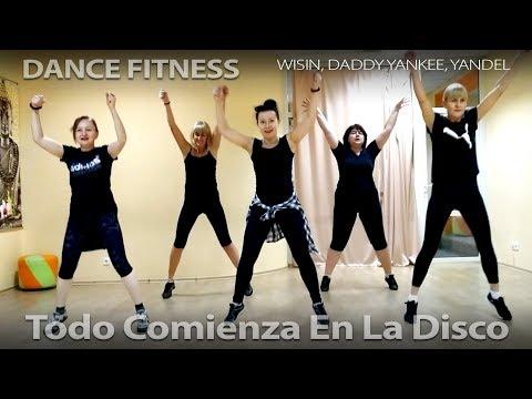 Dance Fitness (Todo Comienza en la Disco / Wisin, Daddy Yankee, Yandel)