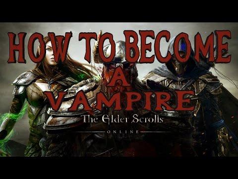 Elder Scrolls Online | How to Become a Vampire | Shrine Locations, Skill Tree & Feeding | PS4/Xbox