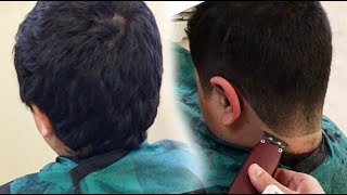 Tip #12: Fade Any Hairstyle, 5 Minutes // Low Drop Fade // How to Cut Men's Hair HD // Best Tutorial