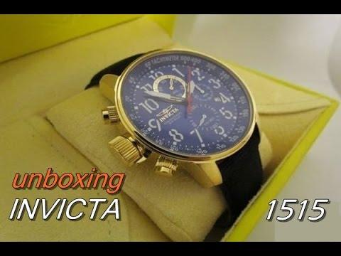 a15a1fa5369 Relógio invicta modelo 1515 - YouTube