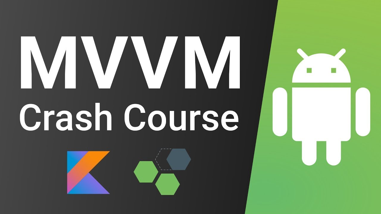 Android MVVM Kotlin Tutorial - LiveData + ViewModel (Android Architecture  Components)
