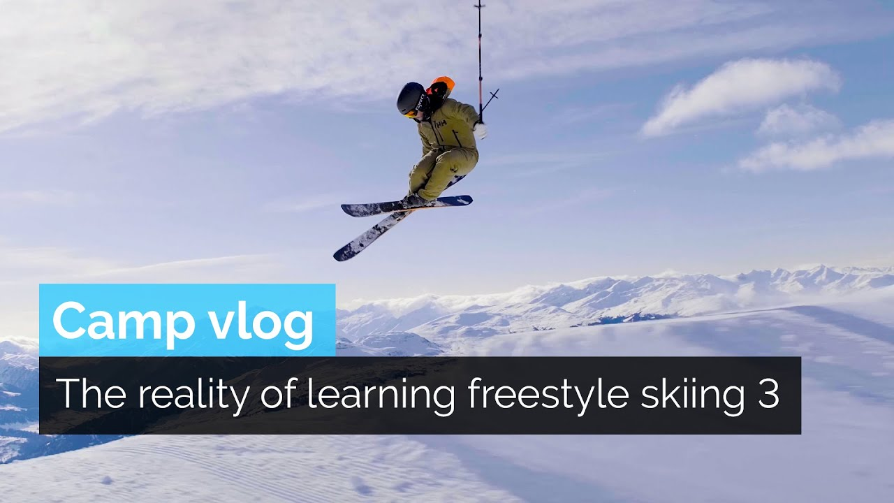 THE REALITY OF LEARNING FREESTYLE SKIING 3
