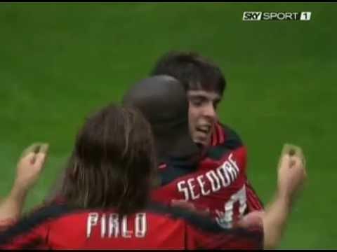 Milan 5-1 Reggina - Campionato 2007/08