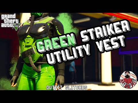 *PATCHED* GTA5 | Outfit Glitches: Green Utility Vest (Female & Male)