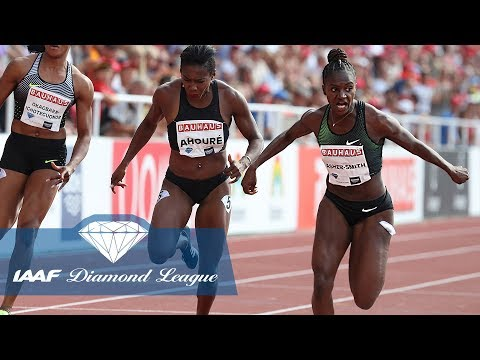 Dina Asher-Smith on breaking her foot before a major championship - IAAF Diamond League