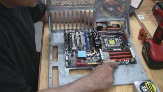 Modding Your Mobo Tray For Cable Mgmt. Part 1