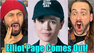 Elliot page, formerly known as ellen page from umbrella academy & juno, came out transgender today...#elliotpage #transgender become a patron-o-ject suppo...