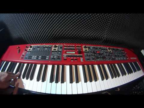 Mark Ronson - Uptown Funk ft. Bruno Mars -Nord Stage 2 Free Preset
