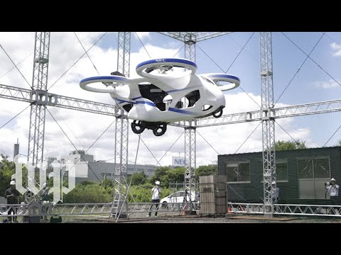 Bill Ellis - Japan Plans To Go Full Jetson By 2030! Watch This Flying Car!