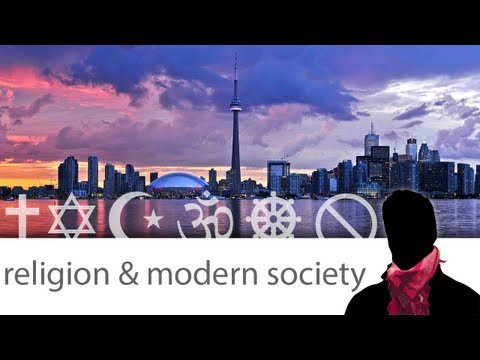 religion and modern society Man and modern civilization what modern society looks for in religion in this sense, i believe that religion will come to play an increasingly larger role in filling the yawning gap that modern civilization has created between man and other life forms.