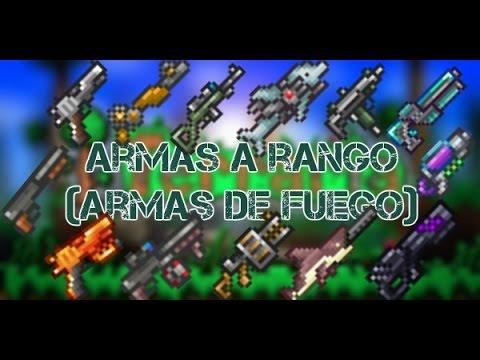 Armas a Distancia (Municion) - Terraria 1.3.3.3 Guía en Español